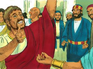 Tous louent Dieu car des hommes de toutes nations peuvent maintenant devenir chrétiens et espérer obtenir la vie éternelle