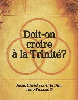1989 – Les Témoins de Jéhovah publient une brochure internationale intitulée Doit-on croire à la Trinité ?
