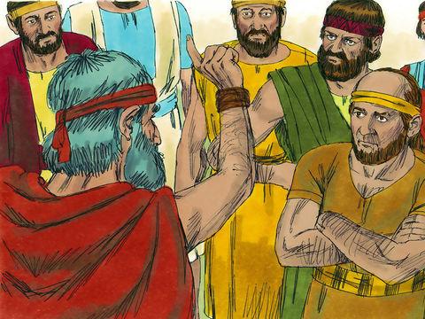 Sédécias, fils de Josias, a succédé à son neveu Jéconia ou Jojakin. Mais ni lui, ni ses serviteurs, ni la population du pays ne tiennent compte des paroles que Dieu a prononcées par l'intermédiaire du prophète Jérémie.