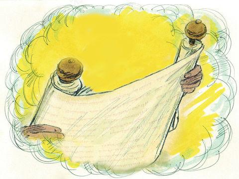 Tout comme Ézéchiel, Jean va avaler le livre, il va l'absorber en prenant connaissance de son message, le goûter et en ressentir les effets après avoir réalisé les conséquences. Jean avale le livre, il est doux dans la bouche mais amer dans son ventre.
