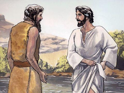 Jean le Baptiste a préparé le chemin menant au Messie, il prêchait un baptême de repentance. 6 mois plus tard, Jésus, âgé de 30 ans, est venu vers Jean le Baptiste pour se faire baptiser, ce sera le début de son ministère, en octobre de l'an 29.