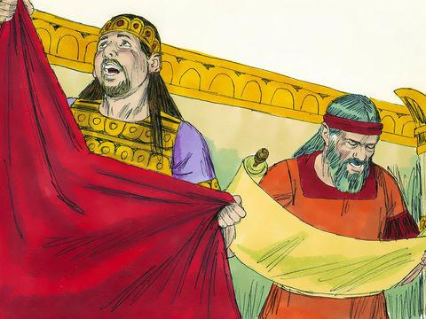 Lorsque le roi Josias, le dernier bon roi de Juda, s'humilie devant Dieu en constatant combien le peuple s'était éloigné de la Loi, Dieu lui fait dire, par l'intermédiaire de la prophétesse Houlda, qu'il ne fera pas venir le malheur de son vivant.