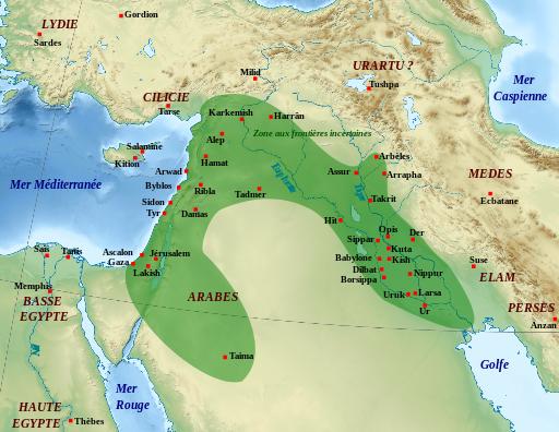 Nabopolassar profite des troubles de succession pour combattre les descendants d'Assurbanipal et s'emparer du pouvoir à Babylone. Il fonde la dynastie chaldéenne. Babylone a vaincu l'Assyrie et devient la puissance dominante en 609 av J-C.