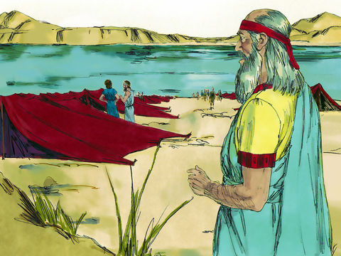 Ézéchiel a une vision près du fleuve Kébar alors qu'il faisait partie des exilés
