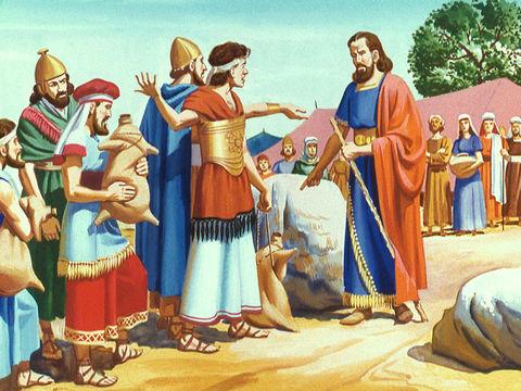 Le peuple se plaint à Moïse car il n'a plus d'eau