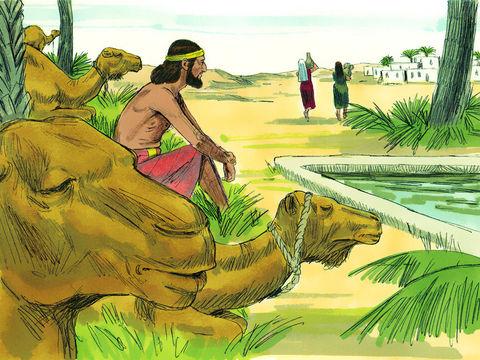 Abraham envoie son serviteur trouver une épouse pour Isaac