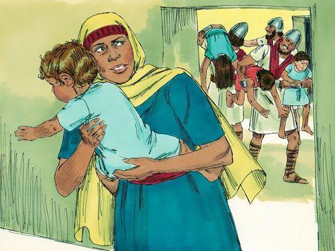 Le roi Joas de Juda qui fait assassiner le prophète Zacharie, fils de Jocheba qui pourtant lui avait sauvé la vie lors de l'extermination de sa famille par la reine Athalie.