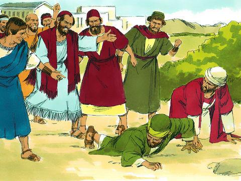 Les Juifs chassent Paul et Barnabas de la ville d'Antioche. Paul leur a dit que c'est à eux que la Parole a d'abord été prêchée mais comme ils ont rejeté Jésus, Paul est envoyé vers les gens des nations.