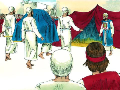"""Car David dit: """"Jéhovah, le Dieu d'Israël, a donné le repos à son peuple, et il habitera pour toujours à Jérusalem; »"""