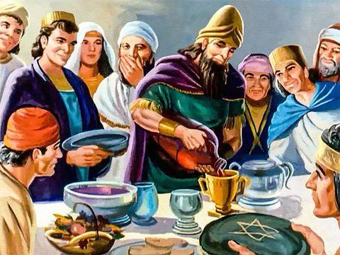 Le roi Belshatsar n'a pas tiré leçon de la leçon d'humilité donnée par Dieu à son grand-père Nébucadnetsar.