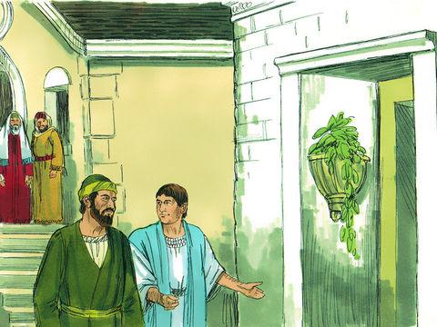 Paul secoua contre eux la poussière de ses vêtements et leur dit : Si vous êtes perdus, ce sera uniquement de votre faute. Je n'en porte pas la responsabilité. A partir de maintenant, j'irai vers les non-Juifs.