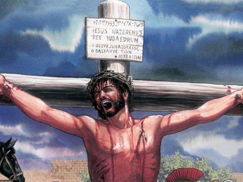 Et tout comme Moïse a élevé le serpent dans le désert, il faut aussi que le Fils de l'homme soit élevé afin que quiconque croit en lui ne périsse pas mais qu'il ait la vie éternelle.