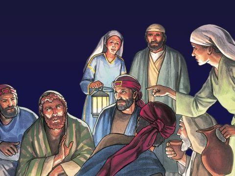 Quand Pierre a affirmé qu'il livrerait son âme ou donnerait sa vie pour Jésus, le Messie lui a répondu qu'il le renierait 3 fois avant le chant du coq.