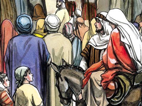 Tous allaient se faire inscrire, chacun dans sa ville d'origine. Joseph aussi monta de la Galilée, de la ville de Nazareth, pour se rendre en Judée dans la ville de David, appelée Bethléhem, parce qu'il était de la famille et de la lignée de David.