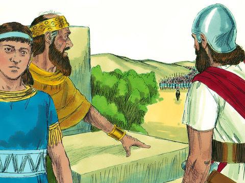 Le premier siège de Jérusalem par les armées babyloniennes a lieu en 605 av J-C, la première année du règne de Nébucadnetsar (605-562), la troisième année du règne de Jojakim (608-597), fils de Josias, sur Juda.