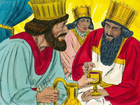 Artaxerxès 1er Longue Main (465-424) a commencé à régner le 4 août (Elul) 465 av J-C après l'assassinat de son père Xerxès 1er (victime d'un complot dirigé par Artaban, ministre et haut dignitaire de la cour) et va régner jusqu'à fin décembre (kisleu) 424