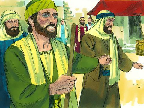 Saul de Tarse reste aveugle pendant 3 jours après avoir entendu la voix de Jésus. Il ne mange ni ne voit rien.