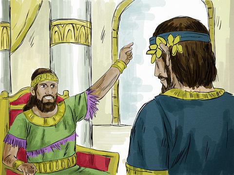 Parabole de l'invité au mariage royal de Jésus, il ne faut pas choisir la meilleure place sinon on risque de devoir la laisser à quelqu'un d'autre de plus important.