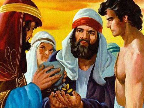 Les tourments peuvent être causés par une mauvaise conscience. Joseph s'adresse à ses frères qui s'étaient débarrassés de lui en le vendant comme esclave. Ne vous tourmentez pas et ne vous accablez pas de remords de m'avoir vendu comme esclave.