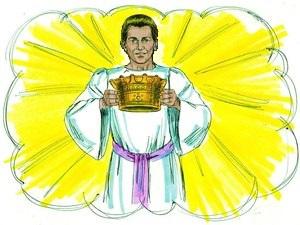 Les 24 anciens sont soumis à Dieu. Ils se prosternent devant Dieu en signe d'adoration et déposent leur couronne devant le trône de Dieu pour montrer leur entière soumission.