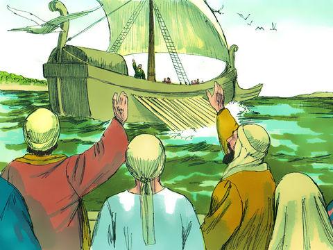 Paul se consacrera à son ministère jusqu'à sa mort. Il va faire plusieurs voyages missionnaires.