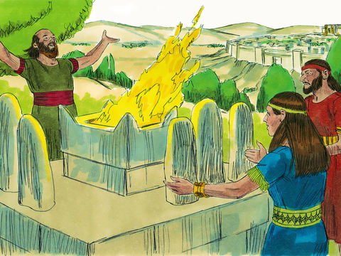Salomon s'est détourné de Jéhovah. Dieu décide de retirer 10 tribus à la descendance de Salomon. Le royaume sera désormais divisé en 2 : le royaume de Juda et le royaume d'Israël qui seront souvent en guerre.