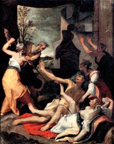Les Israélites se sont livrés à la débauche avec les filles de Moab et ont adoré leurs dieux comme le dieu Baal. Les conséquences pour les Israélites sont terribles. Dieu envoie un fléau et 24'000 Israélites perdent la vie ! Balaam aussi est mis à mort.