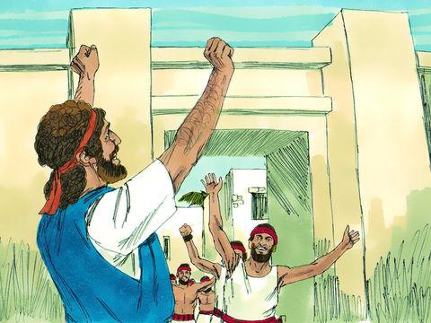 David combat les Jébusiens pour récupérer Jérusalem et en faire sa capitale.