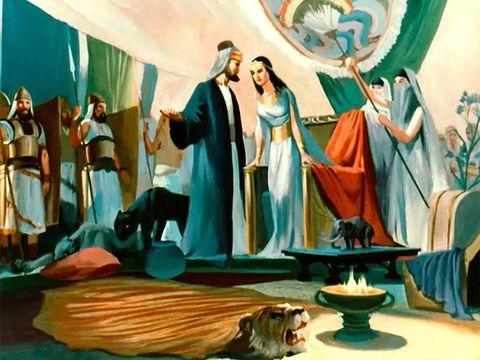 La reine de Saba qui avait voulu voir de ses propres yeux la renommée de Salomon en a eu le souffle coupé. on ne m'en avait pas raconté la moitié: ta sagesse et ta prospérité dépassent tout ce que j'avais entendu dire.
