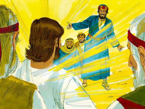 Les apôtres Pierre, Jacques et Jean sont les seuls à voir eu le privilège d'assister à la transfiguration de Jésus, vision de sa gloire céleste et de sa puissance.