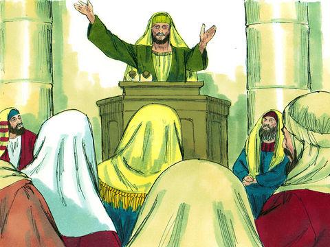 Les apôtres Pierre, Paul et Barnabas ont été remplis d'esprit saint. Les apôtres auraient-ils pu être remplis d'une personne? Non. L'esprit saint n'est pas une personne !