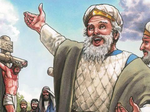 Serpents, race de vipères ! comment échapperez-vous au châtiment de la géhenne? 34 C'est pourquoi, voici, je vous envoie des prophètes, des sages et des scribes. Vous tuerez et crucifierez les uns, vous battrez de verges les autres dans vos synagogues.
