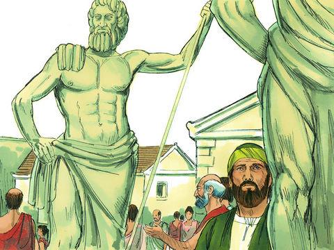 Le prophète Esaïe décrit un homme qui coupe du bois pour faire du feu. Ce qui lui permet de se chauffer et de cuisiner. Puis, il utilise un morceau de bois pour faire un dieu qu'il adore, une statue devant laquelle il se prosterne.
