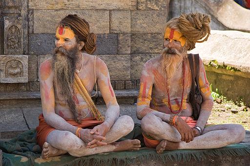 3 voies (mârga ou yoga) de réalisation permettent d'atteindre le moksha. La 2ème voie est celle de la dévotion totale (bhakti-marga) envers un dieu (généralement Vishnou ou Krishna). C'est la voie des renonçants, des sadhus à peine vêtus ou totalement nus