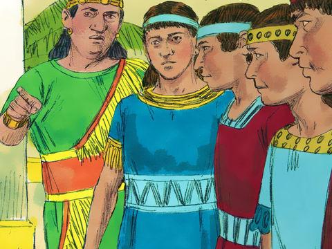 Le roi Nébucadnetsar de Babylone assiège Jérusalem la 3e année du règne de Jojakim. C'est suite à ce premier siège de Jérusalem que Daniel et ses 3 compagnons sont exilés à Babylone, en 605 av J-C.