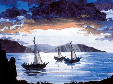 La mer et les bateaux dans la Bible