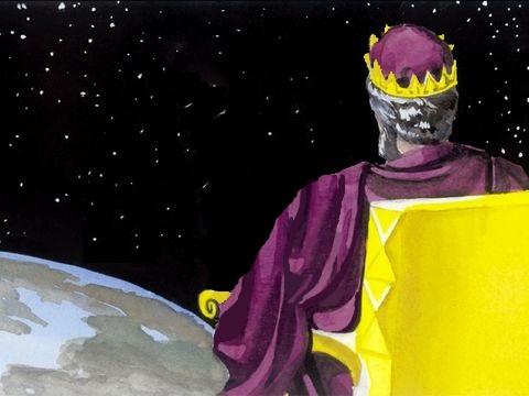 Les cohéritiers de Jésus sont assis sur son trône tout comme lui-même est assis avec son Père sur son trône. Les 144'000 rois représentent Jésus tout comme Jésus représente son Père. Jésus est le fils premier-né de Dieu, le plus élevé des rois de la terre
