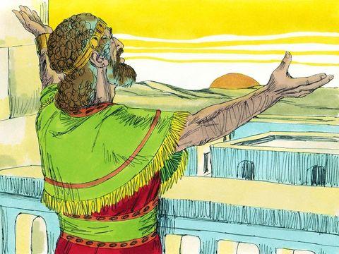 Sion, ville de Jérusalem, siège de la Théocratie (le pouvoir venant de Dieu), la présence de Dieu sur terre - jusqu'à sa destruction en 587 av J-C par les Babyloniens.