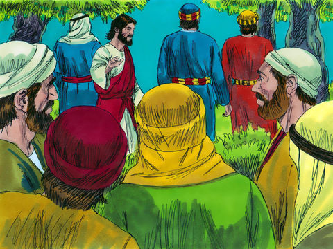Les apôtres de Jésus l'ont accompagné la dernière nuit de sa vie terrestre, peu avant son arrestation dans le jardin de Gethsémané.
