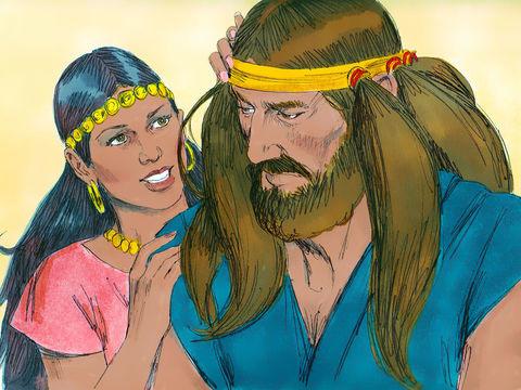 Les tourments peuvent être causés par le harcèlement, par le fait d'importuner avec une insistance excessive (pour obtenir quelque chose).  Samson a été tourmenté par Delila jusqu'à ce qu'il lui dévoile le secret de sa force.