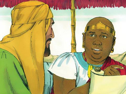 Contrairement à l'eunuque éthiopien, les pharisiens et spécialistes de la Loi, au lieu d'écouter humblement Jésus et ses disciples, les dédaignaient et essayaient de les prendre en défaut. Leur orgueil les a maintenus dans l'obscurité spirituelle.