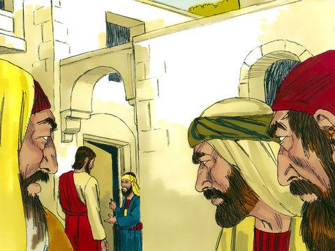 Les pharisiens orgueilleux sont jaloux de Jésus, ils essaient de piéger Jésus