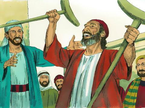 Etienne est un chrétien plein d'esprit saint et de sagesse qui s'occupe de la gestion de la distribution alimentaire quotidienne aux chrétiens nécessiteux de Jérusalem. Etienne est un chrétien très actif prêt à aider les autres accomplissant des miracles