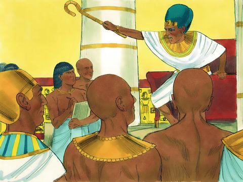 Le pharaon d'Egypte ordonne que tous les nouveau-nés mâles soient noyés dans le Nil
