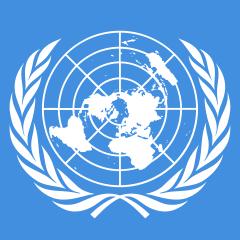 À la base il y a 51 pays fondateurs dont la France. Aujourd'hui, l'ONU compte 193 Etats membres soit la quasi-totalité des 197 Etats actuellement reconnus par l'ONU. La bête à 7 têtes et 10 cornes symbolise l'ONU admirée par toutes les nations de la terre