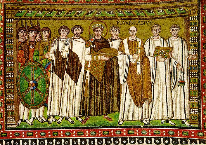 Césaropapisme,  l'Empereur Justinien possède aussi le pouvoir religieux. En 543, devant l'agitation causée par les controverses origénistes, l'empereur Justinien promulgue un édit contre Origène et fait confisquer et détruire tous ses écrits.