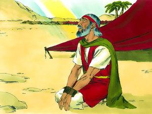 """Le peuple, assoiffé, murmura contre Moïse, en disant: """"que boirons-nous?"""" Moïse cria à Jéhovah, qui lui indiqua un bois; il le jeta dans l'eau amère de Mara et l'eau devint douce."""