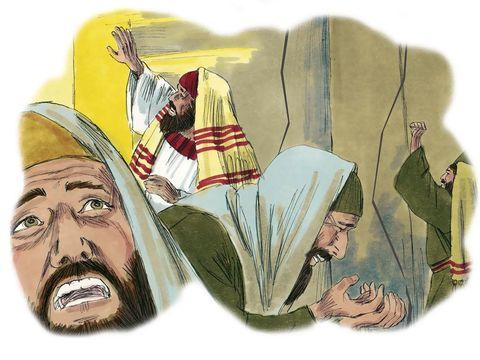 Les disciples de Jésus désirent en savoir davantage sur le retour du Christ qu'ils associent à la fin du monde . Alors le signe du Fils de l'homme apparaîtra dans le ciel; tous les peuples de la terre se lamenteront et ils verront le Fils de l'homme venir