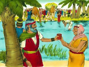 Dans le désert, les Israélites ont pu boire l'eau de Mara au départ amère mais rendue douce par un miracle de Jéhovah.