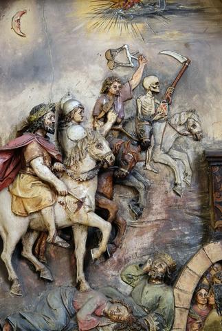 Les 12'000 cavaliers sont associés à la richesse et à la puissance du roi Salomon qui étaient exceptionnelles ! Les 4 cavaliers de l'apocalypse sont également associés à la terreur du temps de la fin.
